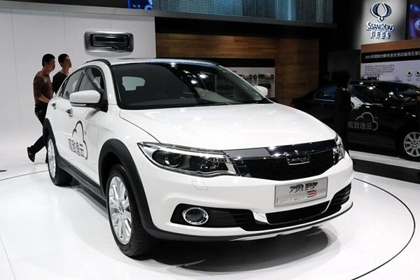 观致3 2015款 都市SUV 1.6T 自动型动派
