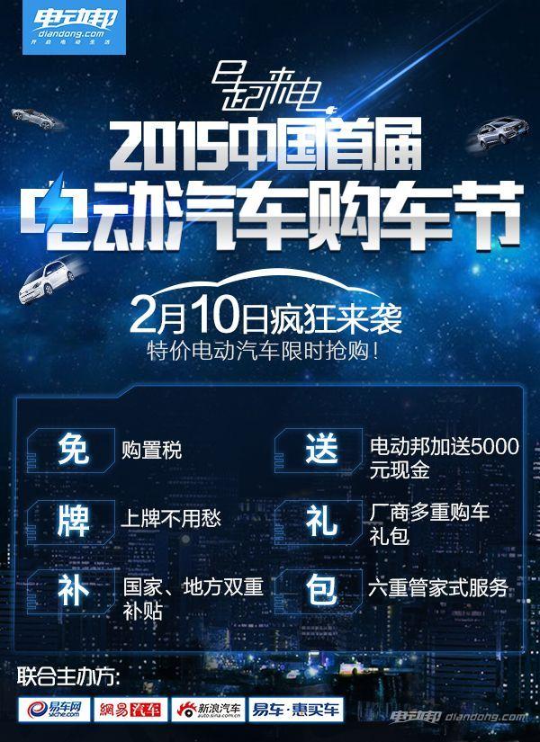 2015中国首届电动汽车购车节