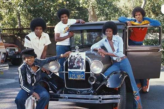 杰克逊当年代言的汽车