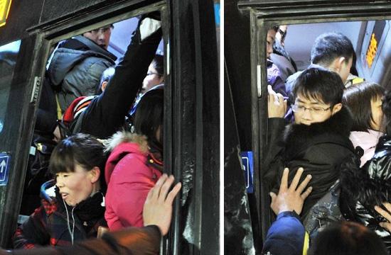 大望路 挤公交