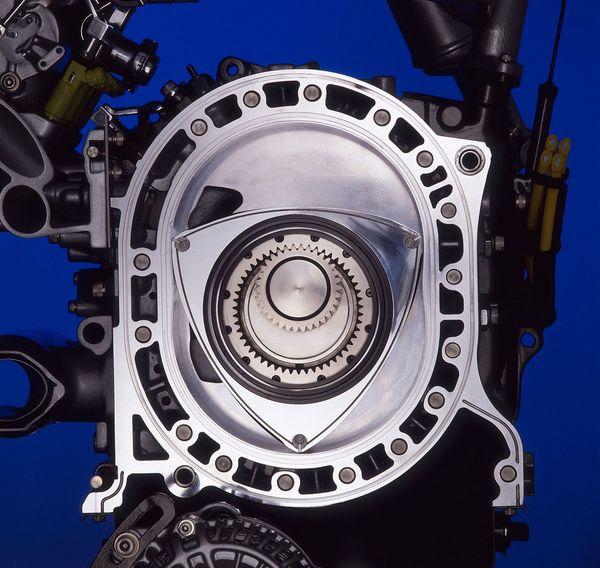 气缸工作原理_马自达RX-7效果图流出 转子发动机为何有如此魅力? - 牛车网