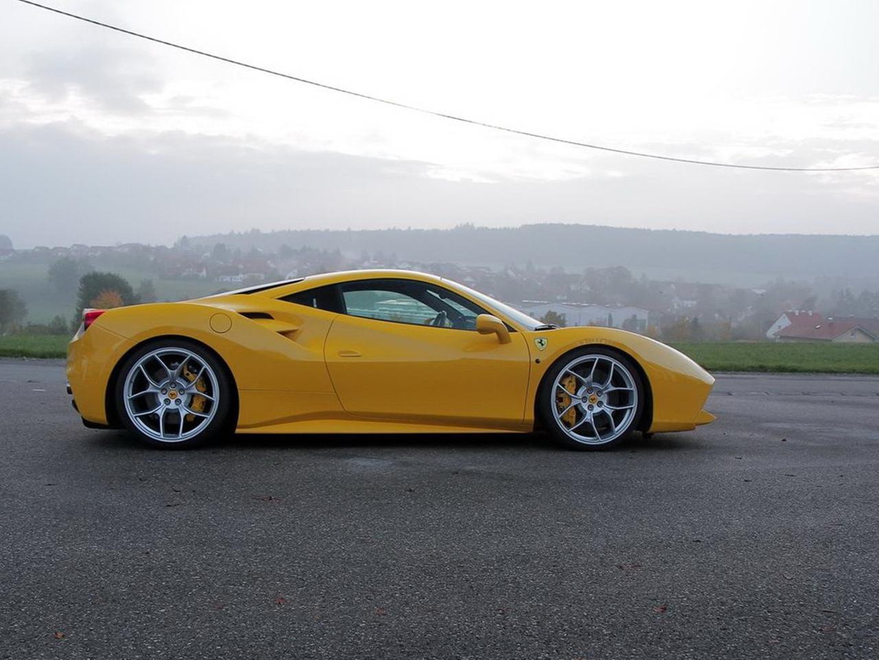 法拉利458改装