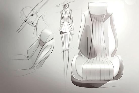 新奔驰E座椅设计理念