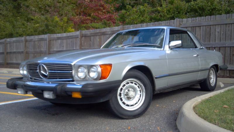 1981款 奔驰SLC