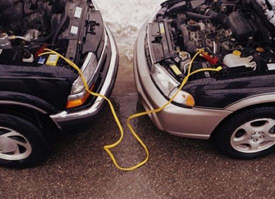 蓄电池没电了!