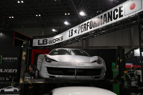 458 宽体 LB performance