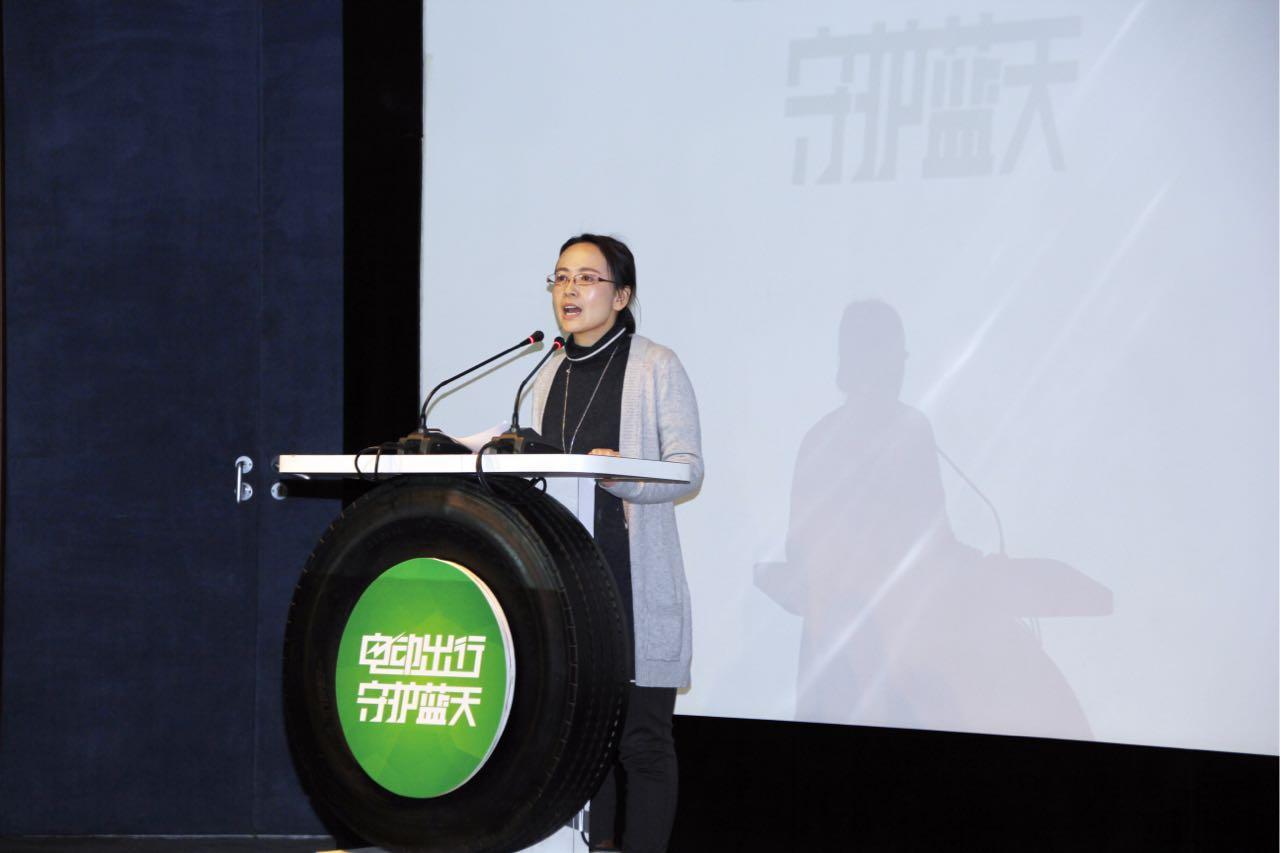 北京汽车博物馆副馆长吴婧