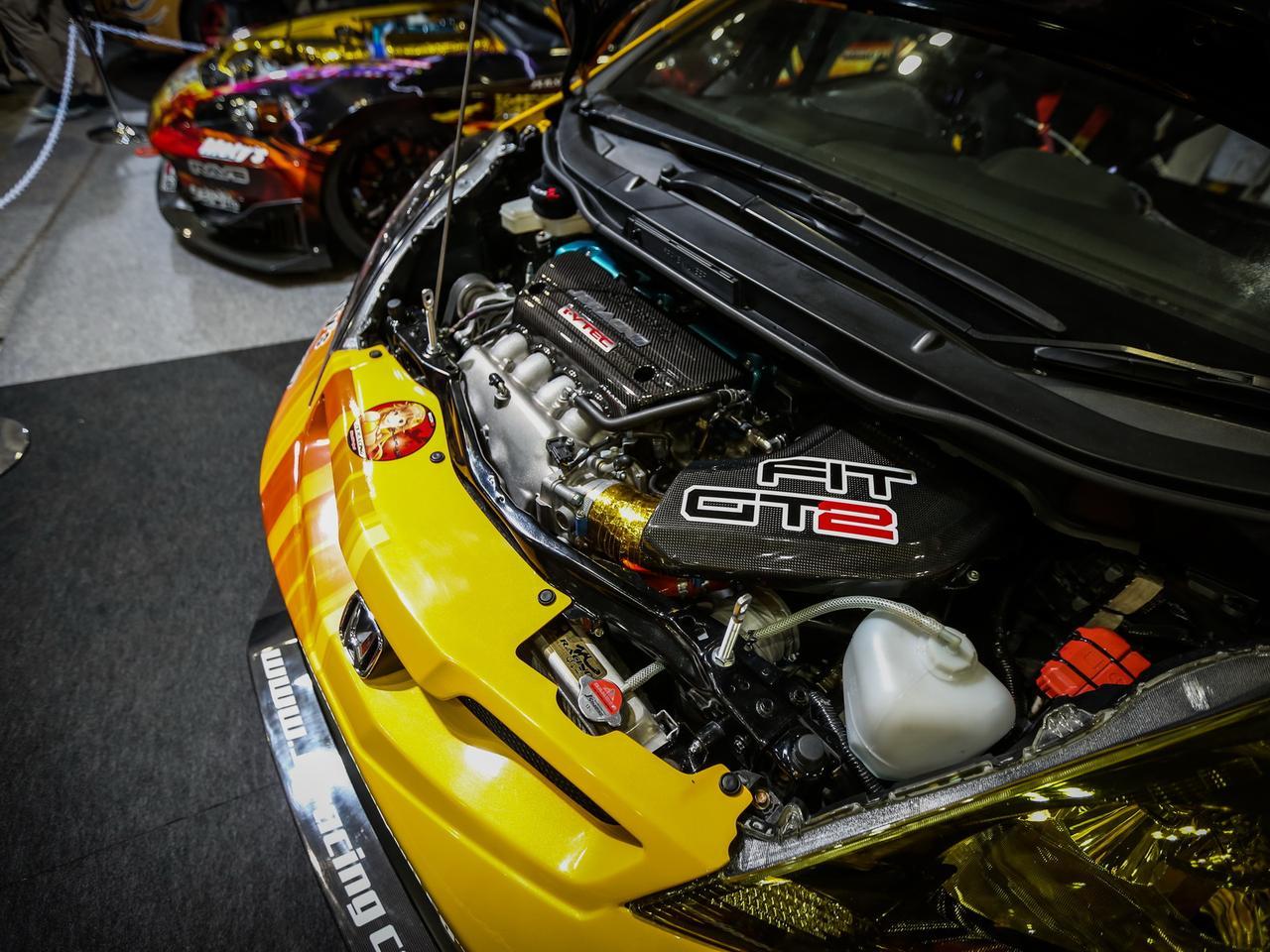 J's Racing 东京改装展 本田改装 K20A 飞度FitGT-2  S2000