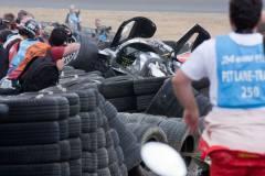 最近换了轮胎,好奇那些被回收的轮胎都怎么处理?
