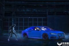 这是奥迪A7,还是最新发布的概念车?