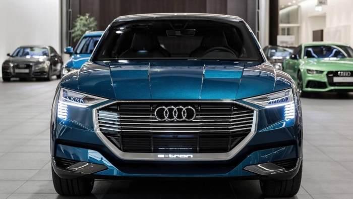 自主品牌相继推出电动汽车,豪华品牌奔驰宝马也有动静,奥迪什么时候也能有所动静?