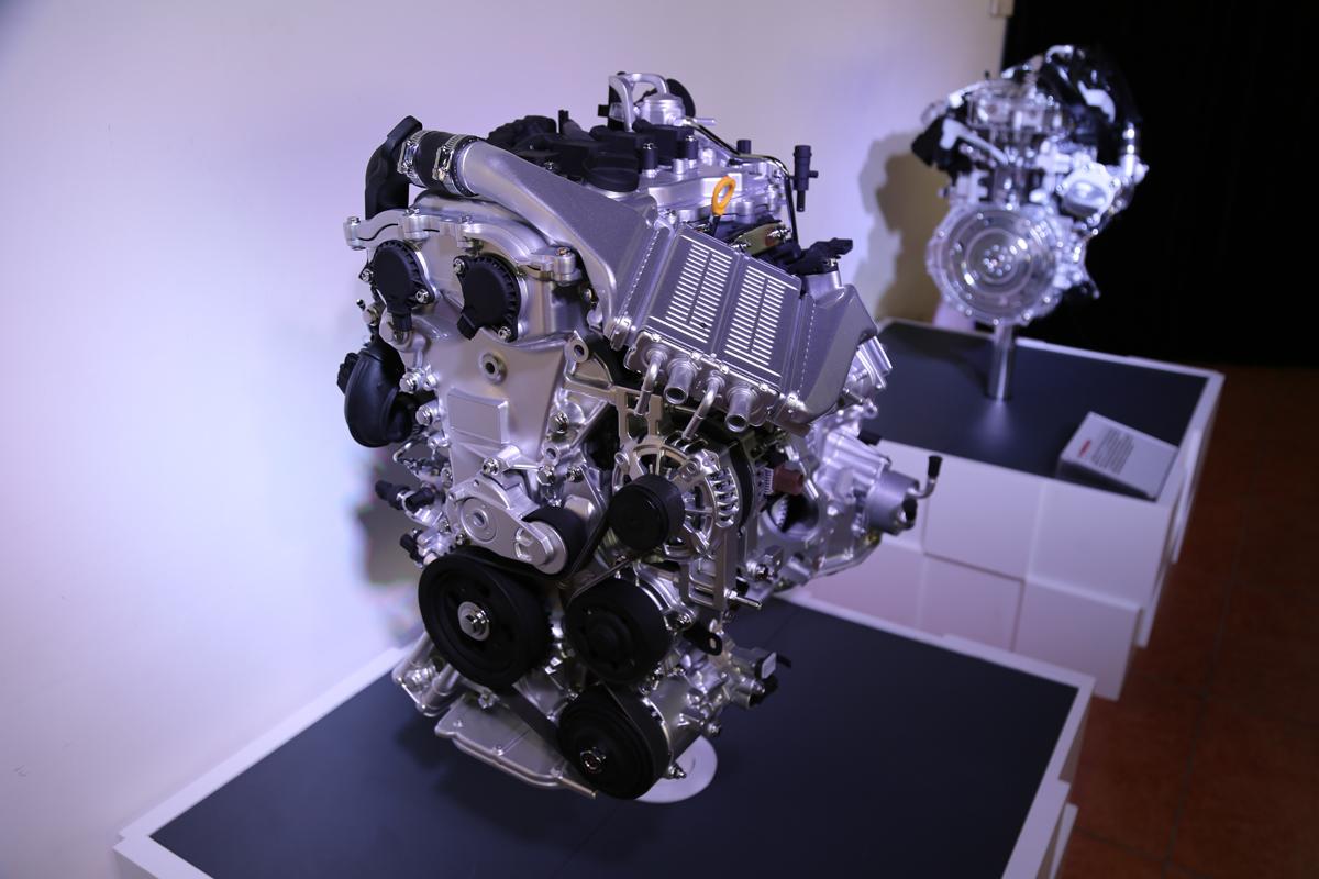 丰田1.2T发动机